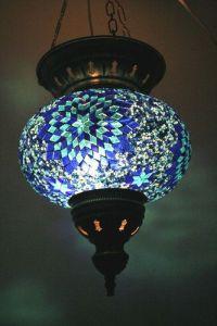 EXTRA LARGE TURKISH MOSAIC LAMP SHADE | Individual Turkish ...