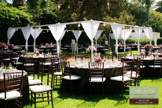 Inexpensive Outdoor Wedding Filed In Cheap Outdoor Wedding