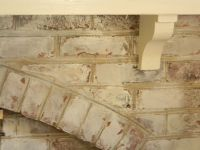 cream painted fireplace brick | ... pic of a whitewash I ...