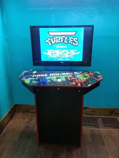 4Player Pedestal Arcade Cabinet for MAME  Arcade