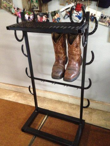Cowboy Boot Rack Boot Racks Pinterest Cowboys Horse
