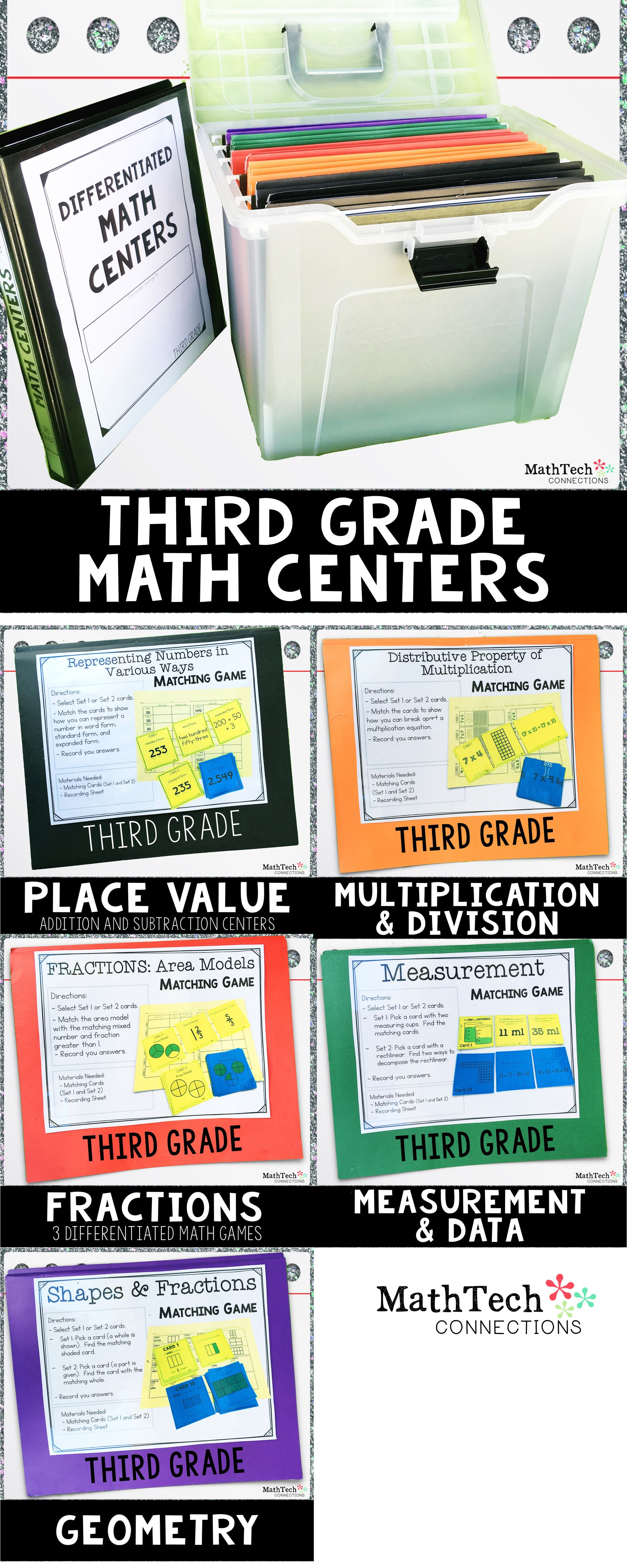 3rd Grade Task Cards Amp Games