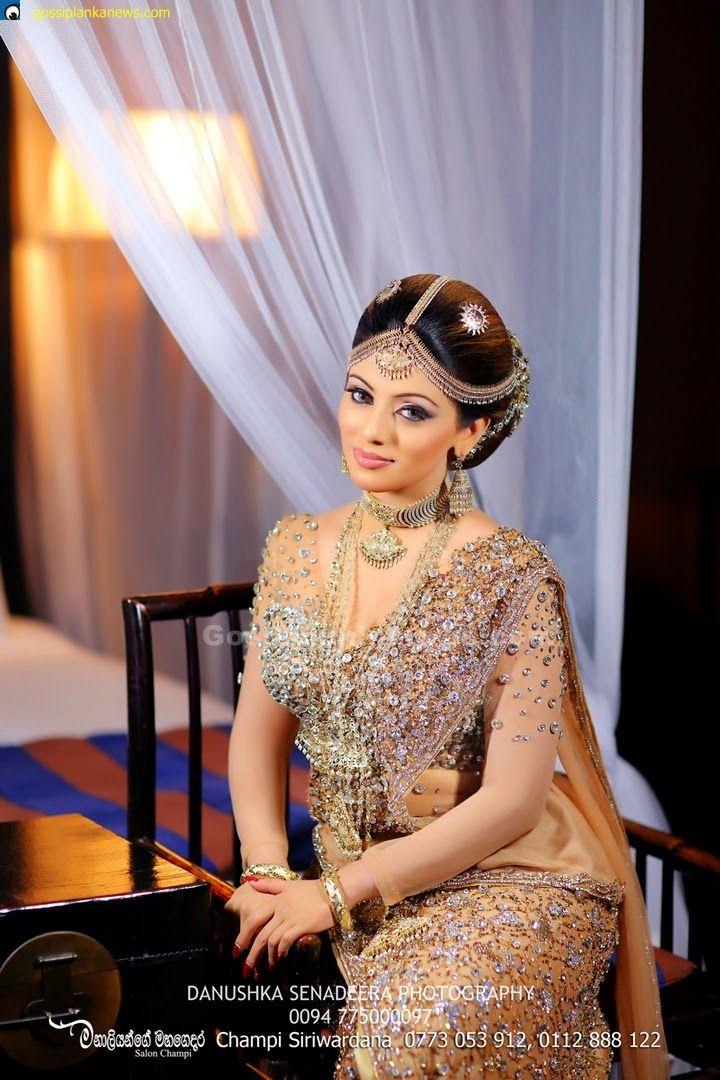 Gossip Photo Gallery Nathasha Pereras Wedding Dress In