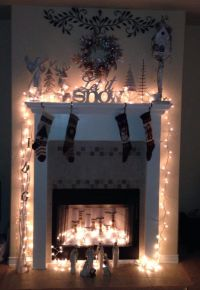 Decorate Inside Fireplace For Christmas | www.indiepedia.org