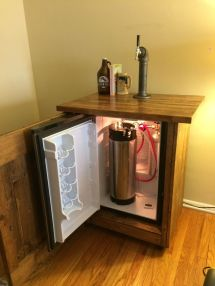 DIY Kegerator Beer Fridge