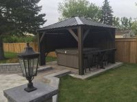 Hot Tub Gazebo backyard idea #spa | Outdoor Spa Living ...