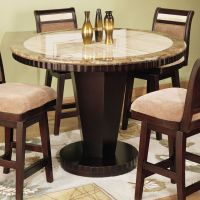 Round dining room sets Awesome Smart Home Design