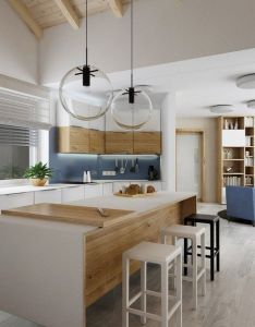 Villa in the countryside is  contemporary residence visualized by czech firm design atak interior spacious and airy with small touches of also designatak kitchen inside pinterest modern rh za