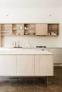 Plywood Kitchen on Pinterest