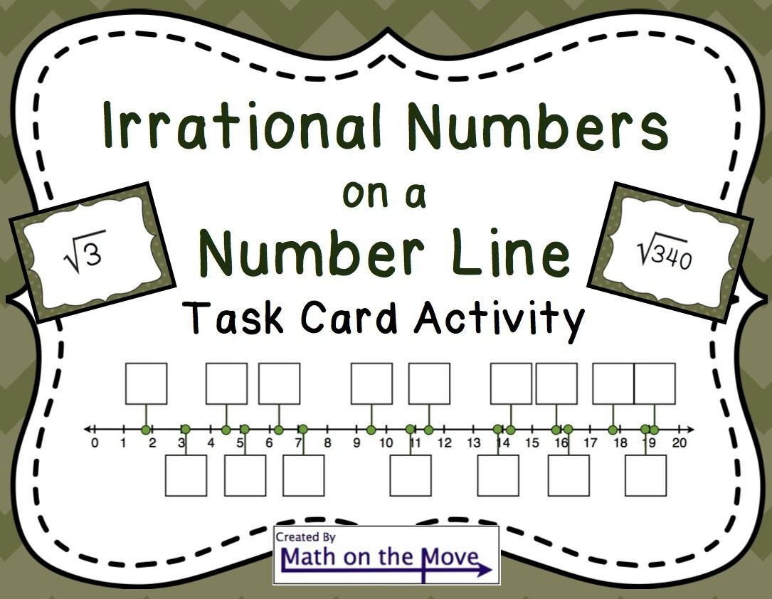 Estimating Square Roots On A Number Line