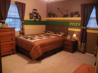 John Deere bedroom - tractors - little boy bedrooms | My ...