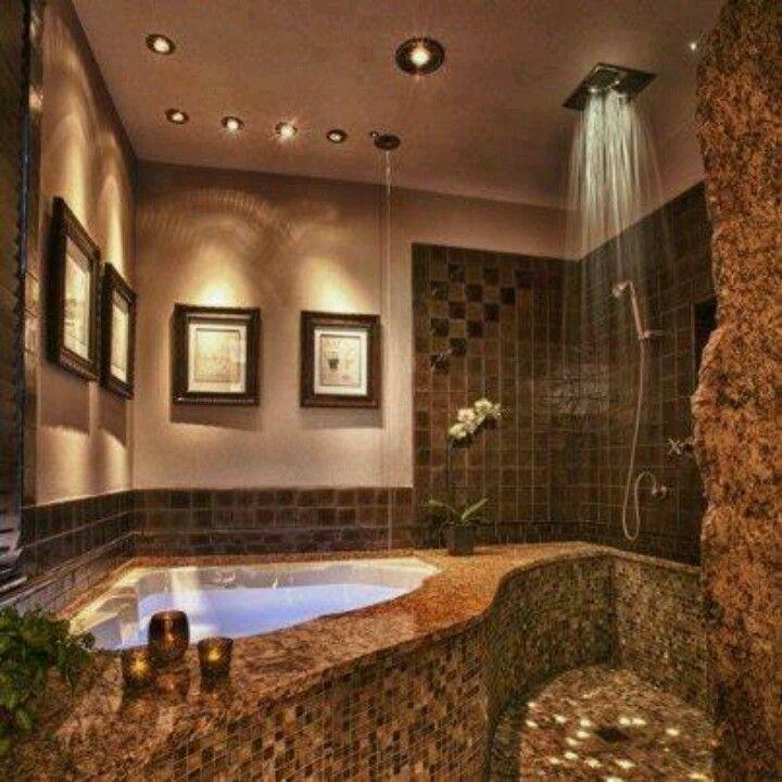 My dream master bathroom  Dream House  Pinterest