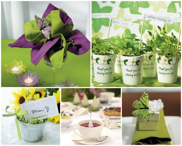 Gardening Party Favors Spring Wedding Ideas With Beau Coup And