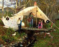 Best 25+ Outdoor forts ideas on Pinterest | Backyard fort ...