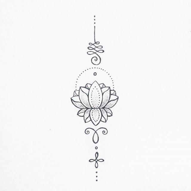Unalome And Lotus Flower Tattoo Meaning Auto Electrical Wiring Diagram