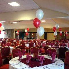 Wedding Chair Covers Yeovil Rolling Swivel Dining Chairs Ruby Anniversary Balloons And Door Arch At The