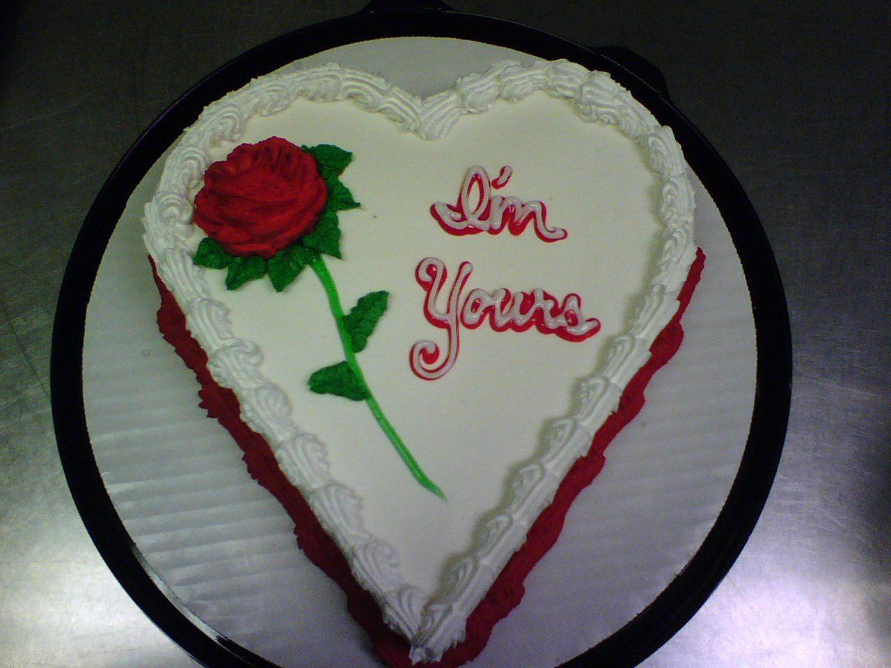 I M Yours Valentine Dq Dairy Queen Ice Cream Cake