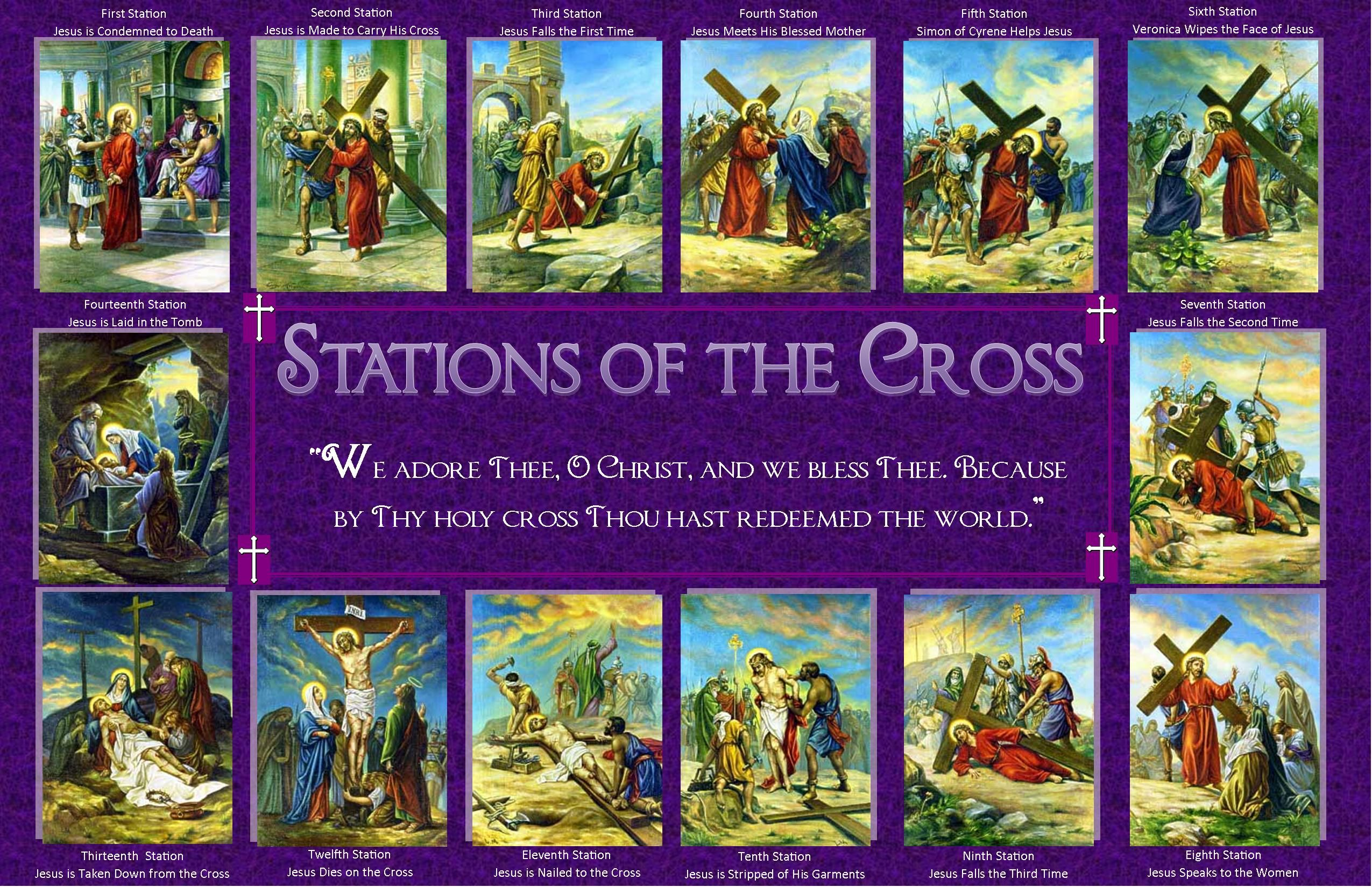 Episcopal Stations Of The Cross Printable