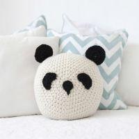 mommo design: PANDA LOVE - panda crochet pillow | KiDS ...