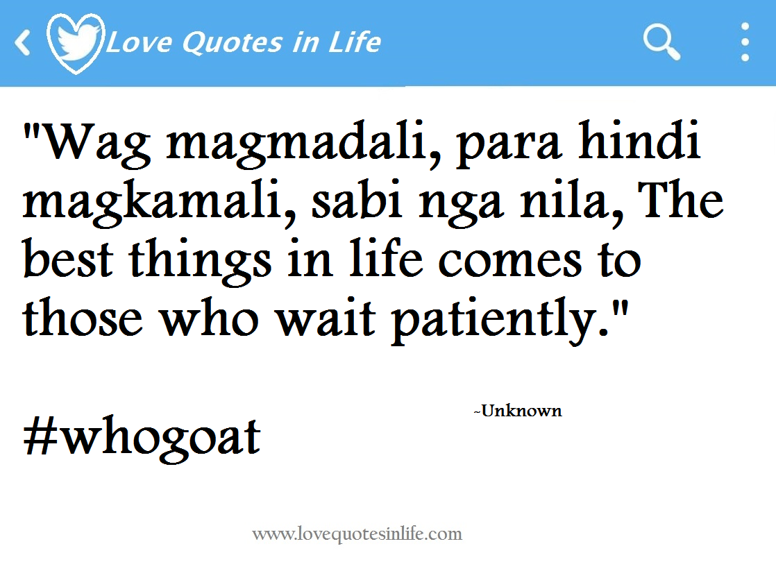 Hugot About Relationships Love Quotes Tagalog And