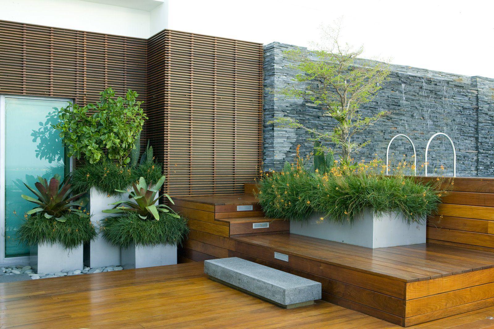 Modern Roof Garden Design Home Proyect Pinterest Gardens