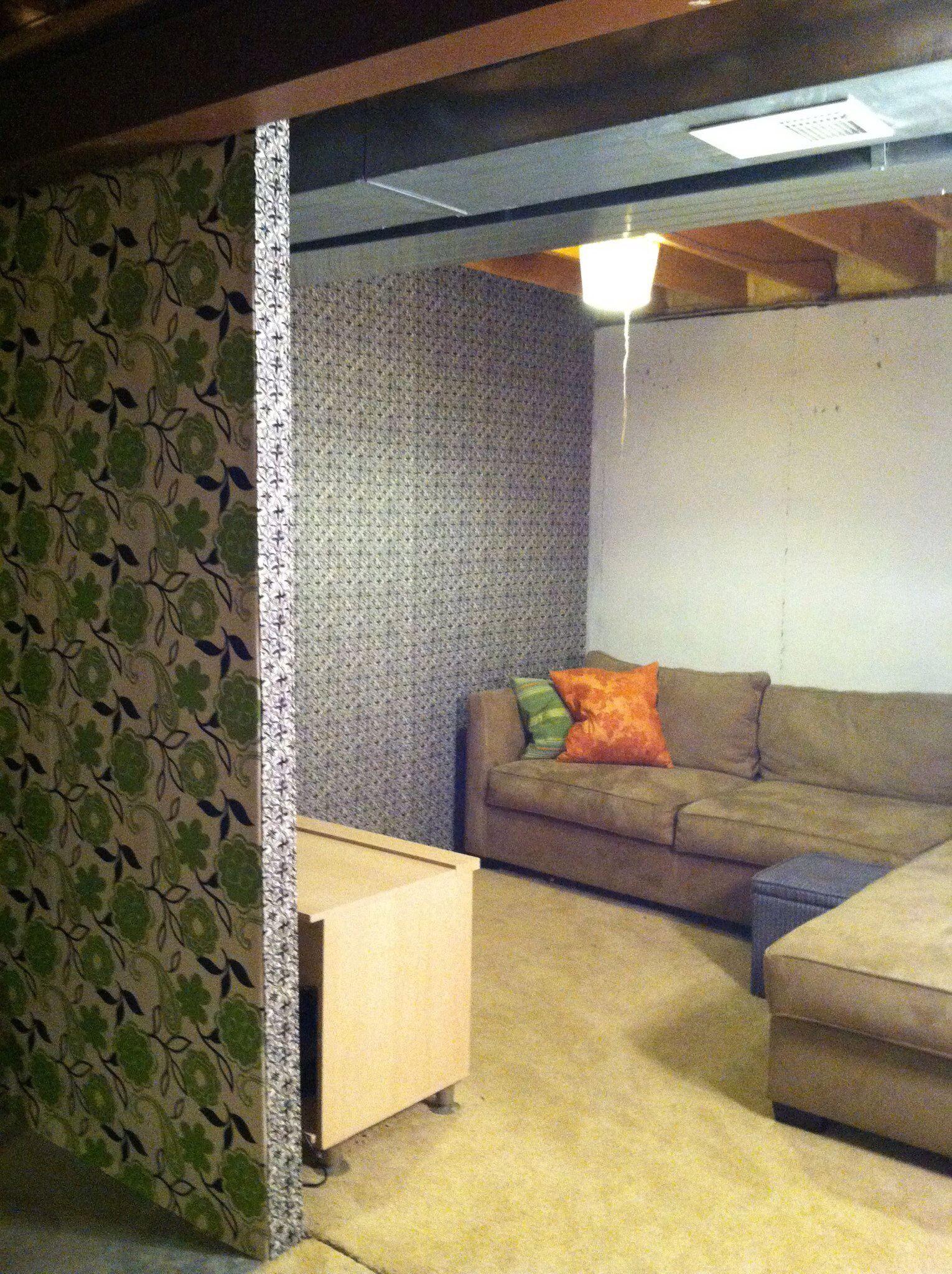 Unfinished Basement Wall Ideas
