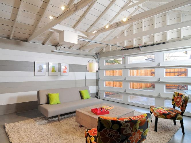 15 Home Garages Transformed Into Beautiful Living Es