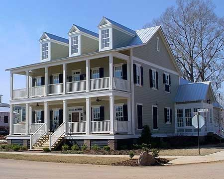 Plan 9735AL Southern Living In Style House Plans Southern
