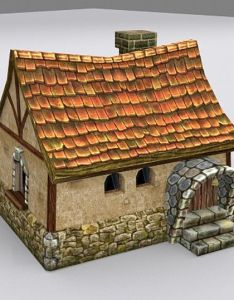 House also medieval fantasy country max  model modeling rh pinterest