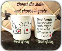 Best friend mug, quote mug, unique coffee mug, going away ...