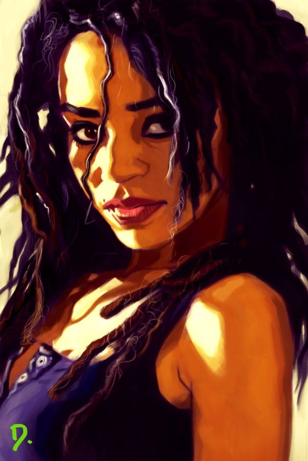 """""""tiffany"""" 2012 Corel Painter Dominique Marquette Artist Facebook Hair And Beauty"""