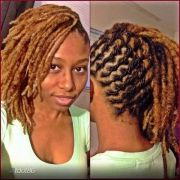 twisted and style locs
