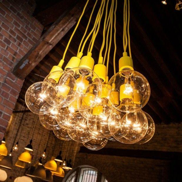 Hanging Light Modern Decorative Led Bulb Pendant Light Bar