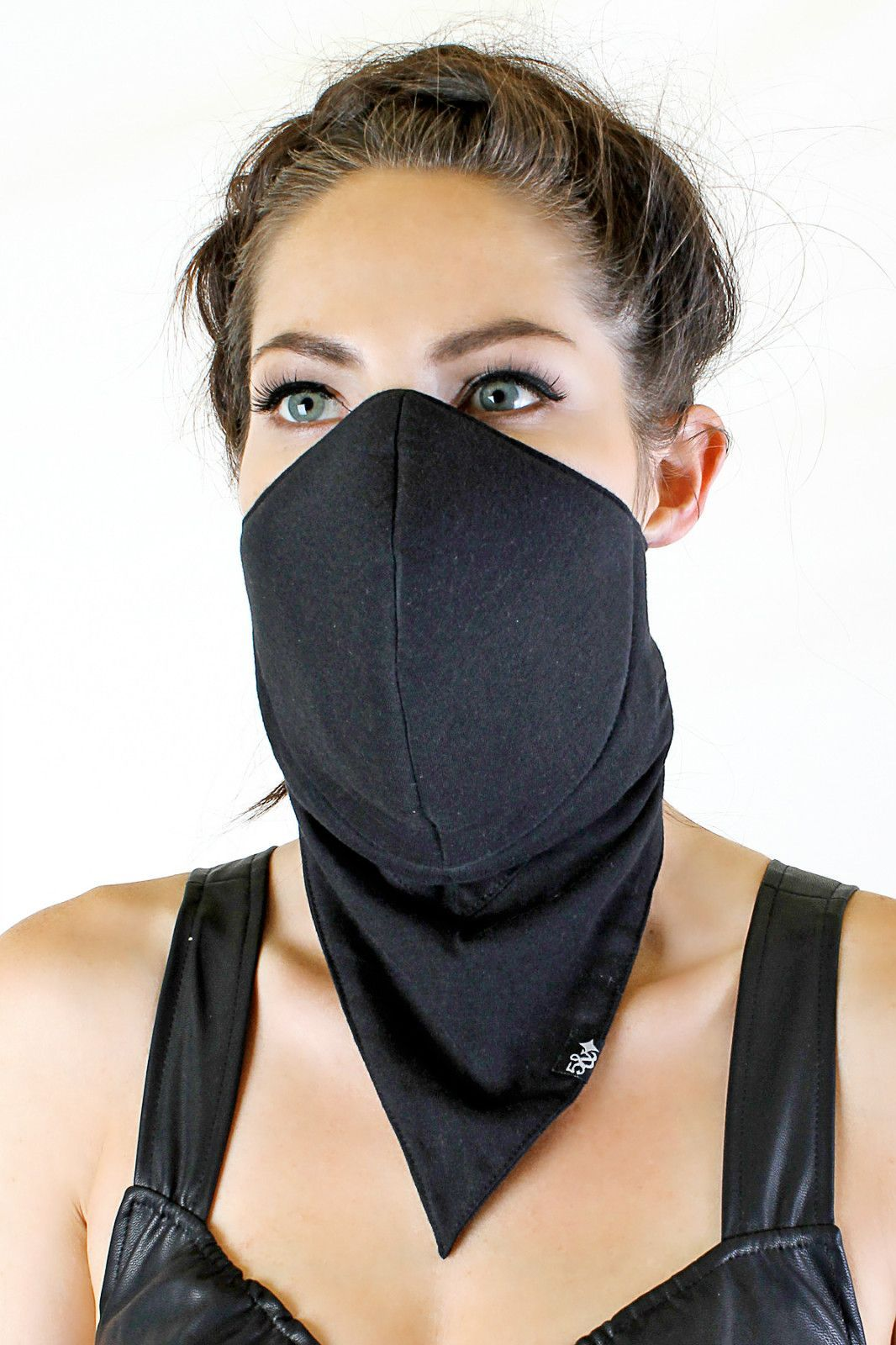 Five And Diamond Dust Mask No Print Long
