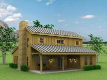 Barn Home Pole Style House Plans