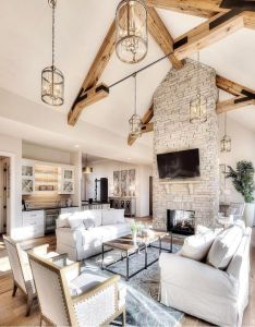 Inspiration good morning starting the day with this family room by starr homes home interior designinterior also rh pinterest