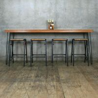 NEW* Reclaimed Teak Breakfast/Bar Height Table with ...