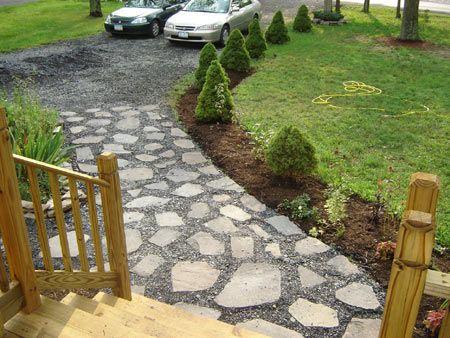 cheap idea driveway landscaping