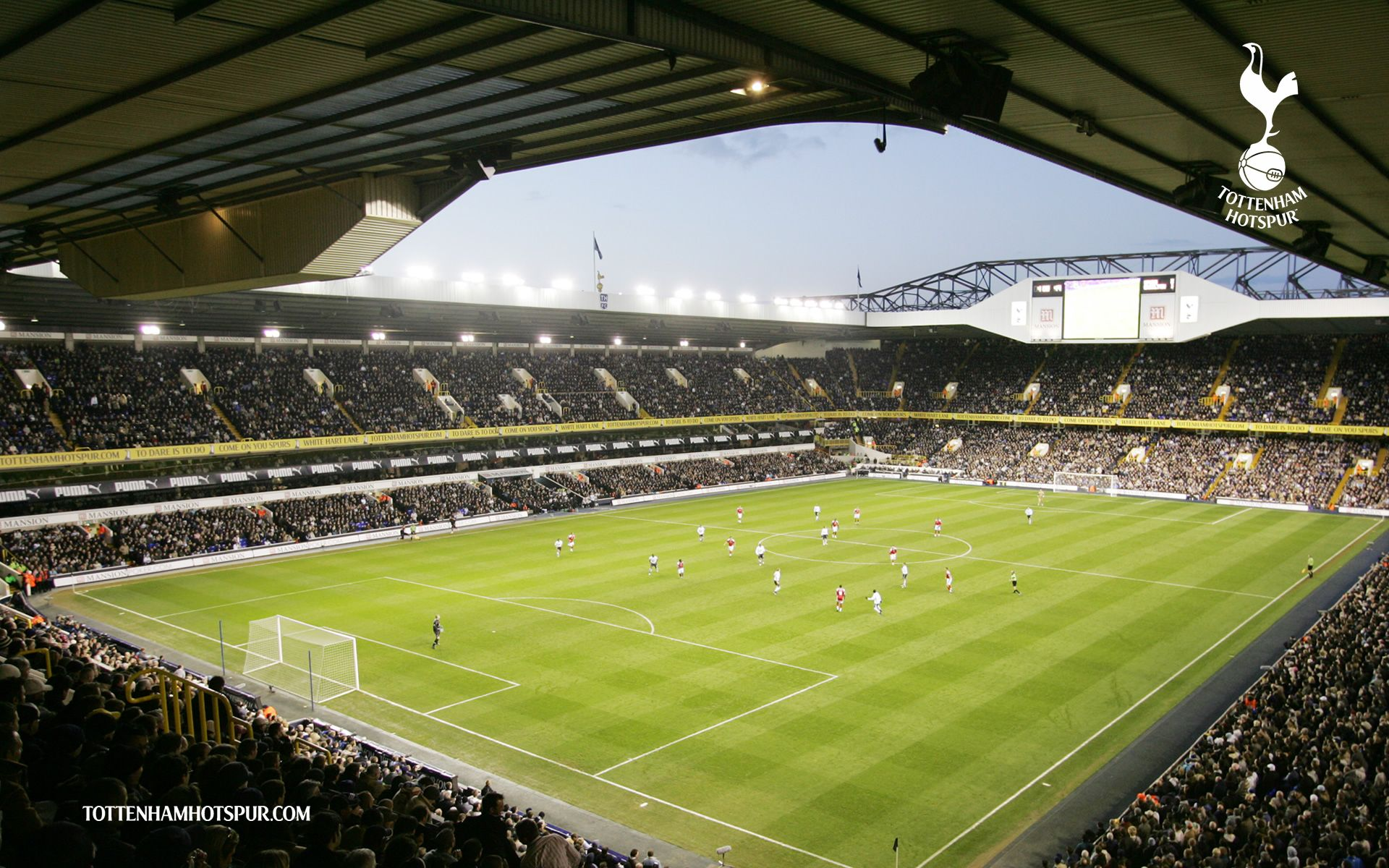 Tottenham Hotspur White Hart Lane Wallpaper HD