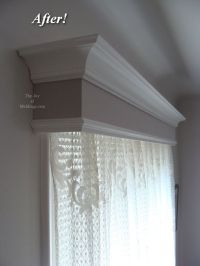 Window Valance Box on Pinterest | Box Valance, Cornice Box ...