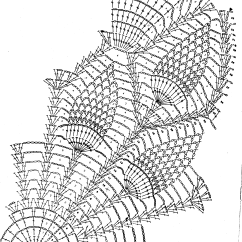 Pineapple Crochet Doily Diagram 2004 Vw Touareg Wiring Ananassilinik Doilies Diagrams Pinterest