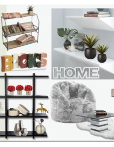 Open shelving by ilona liked on polyvore featuring interior interiors also decorating and rh pinterest