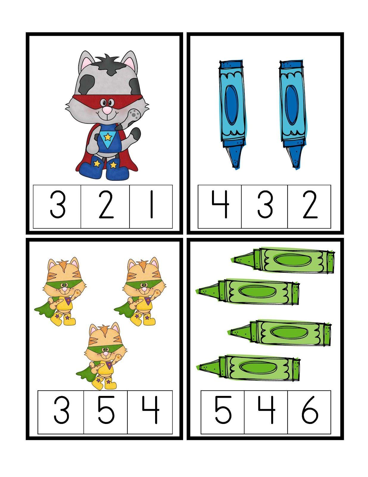Preschool Printables Freebie