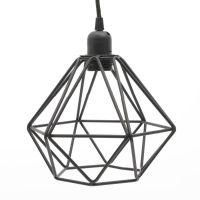Black Wire Pendant Light Miafleur Notonthehighstreet.com ...