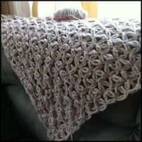 jennyhats is making this WIP crochet shawl using ...