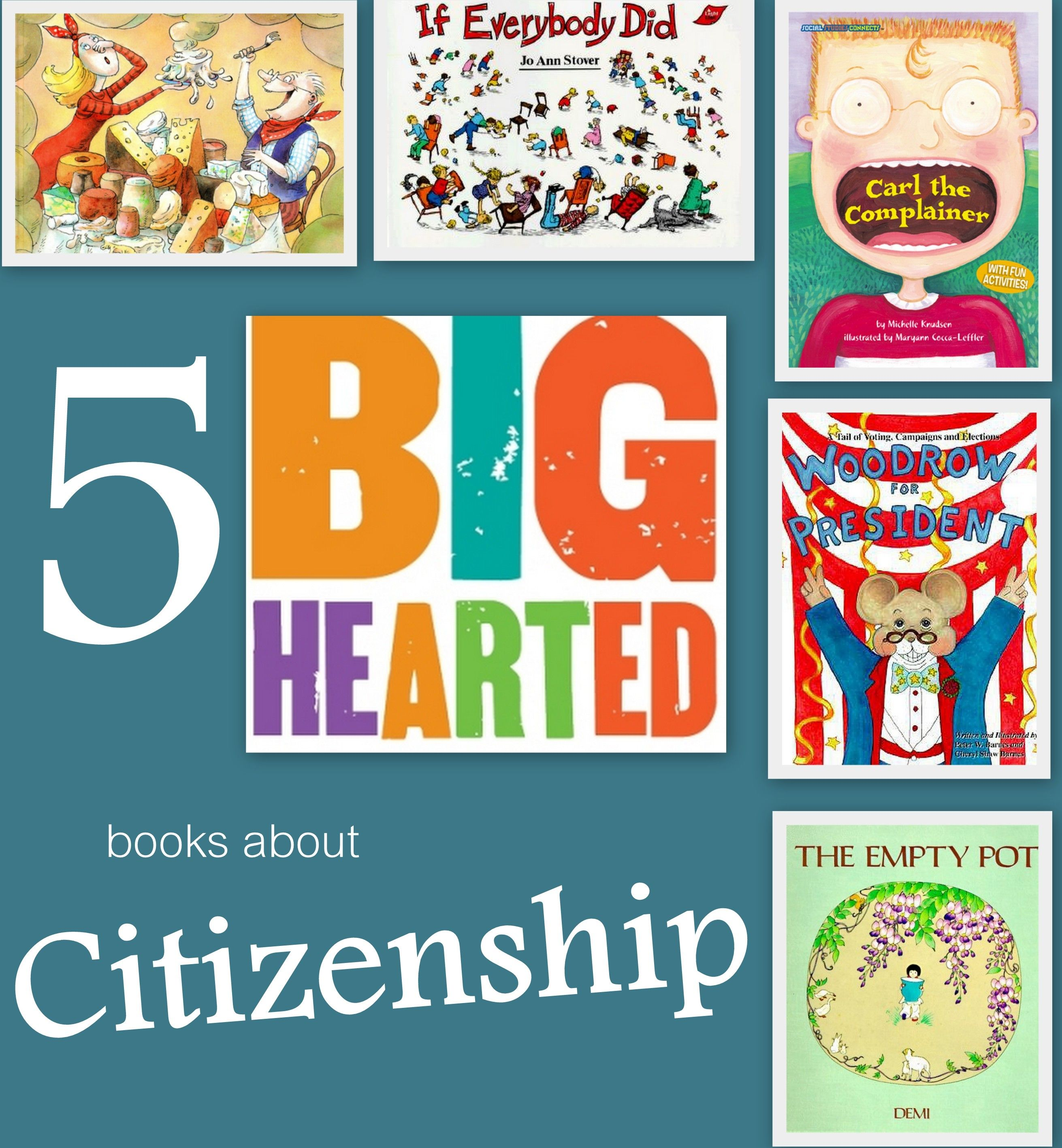 A Growing List Of Picture Books To Teach Citizenship
