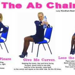 Chair Exercises For Abs Sitting On Abdominal Turn Your Office Into An Ab Toning And Do This