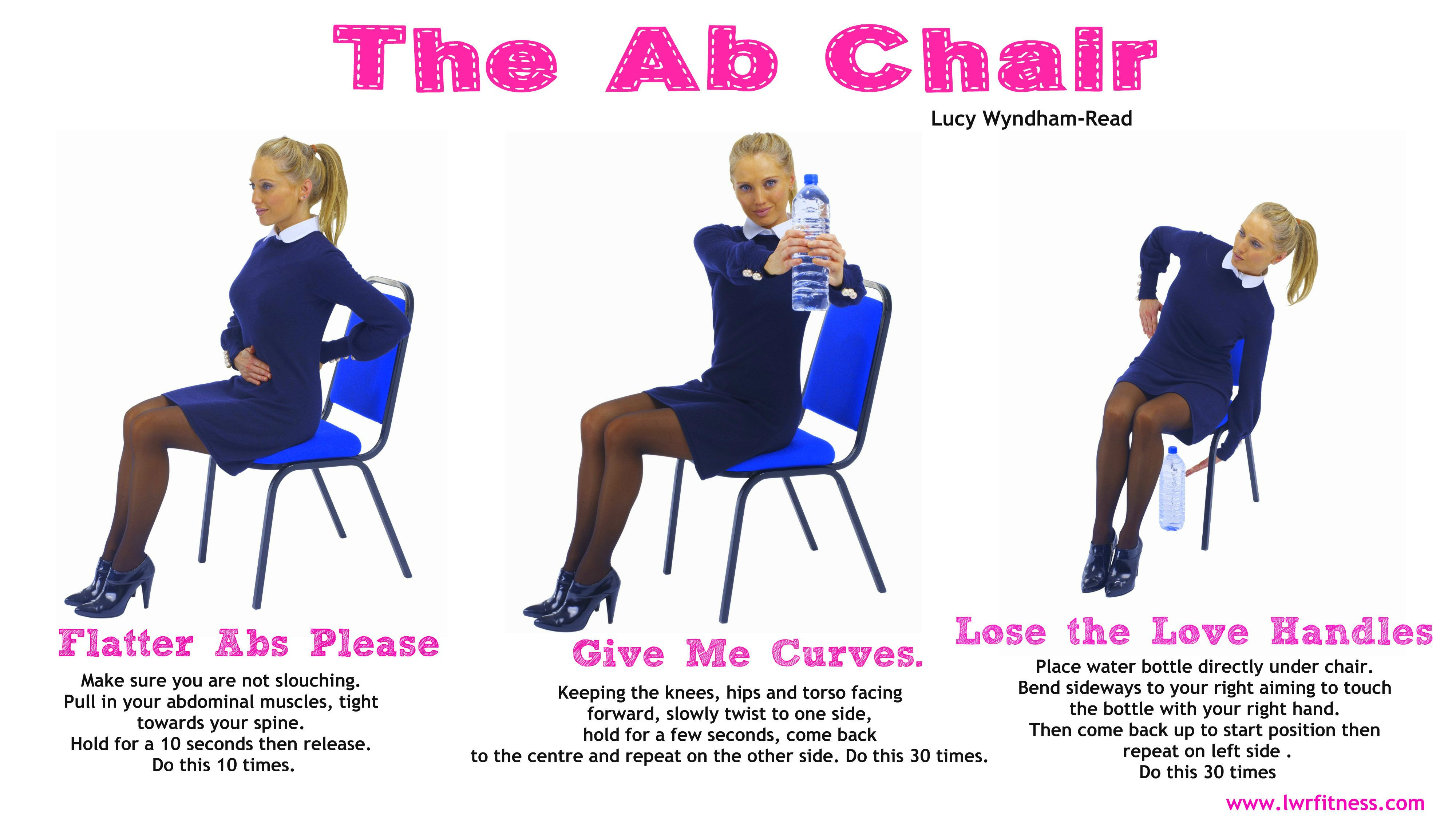 office chair workouts for abs blue arm turn your into an ab toning and do this