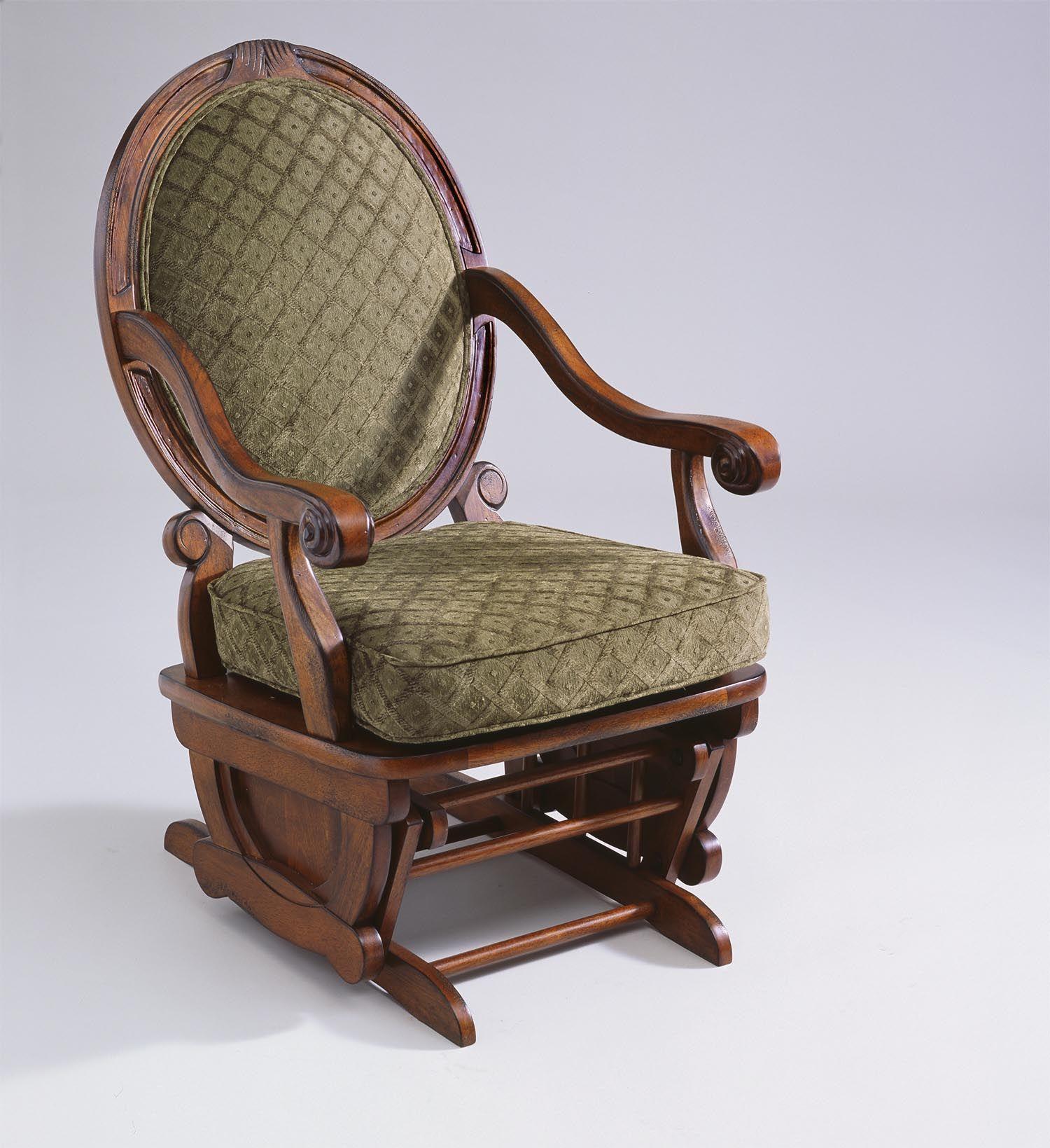 Best Brockly Glider Rocking Chair  Jasens Fine