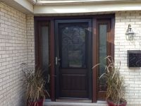 ThermaTru Entry Door installed by Opal Enterprises | Entry ...